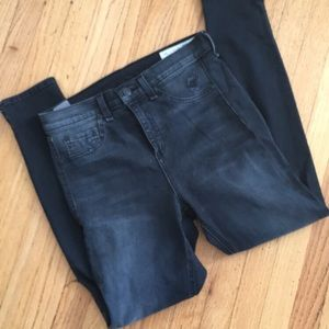 Rag&Bone faded black skinnies